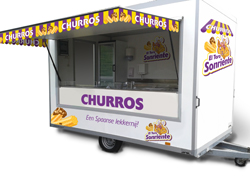 Verkoopwagen-churros